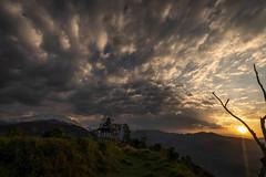 Astam Sunrise (Lyndon (NZ)) Tags: 2019 ilce7m2 sony colour nepal astam annapurna sunrise landscape temple religion architecture cloud wanderlust travel