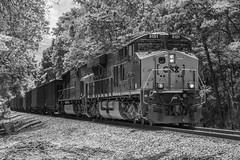 CSX E302-05 at OJG 1.9 (travisnewman100) Tags: csx train railroad freight rr unit coal et44ah sd70mac ge emd cartersville georgia subdivision atlanta division e302