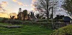 Old church with graveyard at Macreddin, Wicklow (MargrietPurmerend) Tags: macreddin aughrim wicklowmountains church graveyard ireland ierland