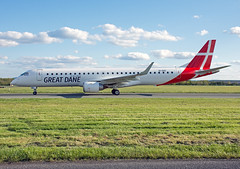 EI-GGC ERJ-195LR (Irish251) Tags: great dane airlines erj embraer erj195 dub eidw dublin airport ireland eiggc