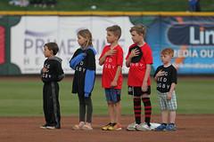 National Anthem time (Minda Haas Kuhlmann) Tags: sports milb minorleaguebaseball baseball pacificcoastleague omahastormchasers nebraska omaha papillion sarpycounty outdoors fans onfieldpromotions