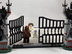 2019-124 - Star Wars Day (Steve Schar) Tags: petermayhew kennybaker carriefisher princessleia r2d2 chewbacca maythe4th starwarsday starwars minifigure lego iphonexs iphone project365 sunprairie wisconsin 2019