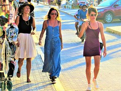 Downtown Tulum (thomasgorman1) Tags: street canon people tourists shopping sidewalk woman women walking tulum mexico tourism streetshots candid public