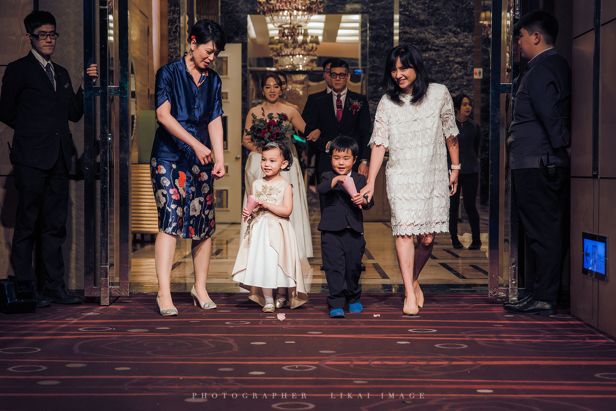 婚禮紀錄 - Emily & Andy - 萬豪酒店