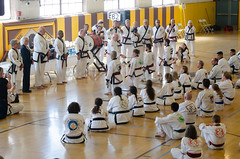 Ms. Ohlson's Master Ceremony (TheBurgners) Tags: tournament wtsda sanfrancisco missionhigh paresh tang soo do