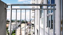 Fences, Petaling Jaya (alfredsridar) Tags: sony alpha a7ii fence flickr friday faded high rise buildings kl skyline balcony apartment