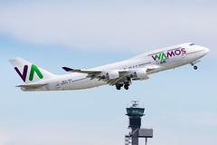 EC-MQK Wamos Air Boeing 747-4H6 (buchroeder.paul) Tags: eddl dus dusseldorf international airport germany europe departure ecmqk wamos air boeing 7474h6