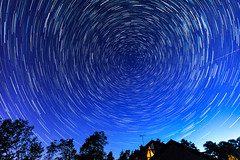 Star Trail May 5th (nicklucas2) Tags: astrophotography startrail stars night aeroplane aerial