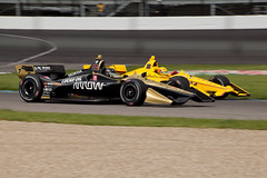 Marcus Ericsson (#7) and Helio Castroneves (#3), 2019 IndyCar Grand Prix Warmup (Roger Gerbig) Tags: 2019indycargrandprix nttindycarseries indycar openwheelracing roadracing openwheel indianapolismotorspeedway ims autoracing rogergerbig canoneos5dmarkii canonef70300mmf456isusm arrowschmidtpetersonmotorsports teampenske marcusericsson heliocastroneves