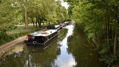 Moored Boats, Regent's Canal (rq uk) Tags: rquk nikon d750 limehousebasintocamdenlock nikond750 afsnikkor1835mmf3545ged boats moored regentscanal