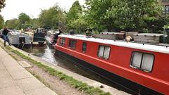 How To Get Boat Out When Moored On Bankside (rq uk) Tags: rquk nikon d750 limehousebasintocamdenlock boats moored regentscanal nikond750 afsnikkor1835mmf3545ged