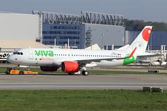 Viva Aerobus  Airbus A320-271N D-AXAH_(XA-VIA) (widebodies) Tags: hamburg finkenwerder xfw edhi widebody widebodies plane aircraft flughafen airport flugzeug flugzeugbilder viva aerobus airbus a320271n daxahxavia