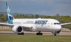 C-GURP - Boeing 787-9 Dreamliner - LGW (Seán Noel O'Connell) Tags: westjetairlines westjet cgurp boeing 7879 dreamliner b787 b789 787 gatwickairport lgw egkk yyc cyyc ws2 wja2 aviation avgeek aviationphotography planespotting