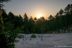 Sunrise in Kobushi Hut (takashi_matsumura) Tags: sunrise mt kobushi hut mountain lodge chichibu saitama japan nikon d5300 ngc 甲武信小屋 甲武信岳 秩父 埼玉 afp dx nikkor 1020mm f4556g vr
