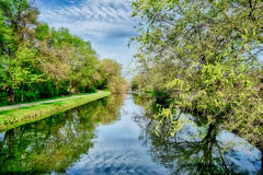 Spring at the Canal in Morris Il (kendoman26) Tags: hss happyslidersunday hdr nikhdrefexpro2 sonyalpha sonya7mk2 sonya7ii sel2870 imcanal iandmcanal imcanaliandmcanal morrisillinois