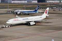 China Eastern  Airbus A330-343 B-6095 (Mark Harris photography) Tags: spotting hnd plane aviation canon 5d