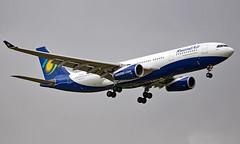 9XR-WN - Airbus A330-243 - LGW (Seán Noel O'Connell) Tags: rwandair 9xrwn airbus a330243 a330 a332 gatwickairport lgw egkk kgl hryr bru ebbr 08r wb700 rwd700 aviation avgeek aviationphotography planespotting