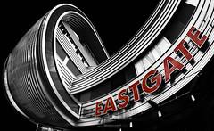 Eastgate (stefan.lafontaine) Tags: eastgate berlin deutschland gerrmany europe europa architektur architecture colour key black white schwarzweiss schwarz weiss langzeitbelichtung blancoynegro noireetblanc