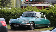 Citroën ID 20 1969 (XBXG) Tags: 5830jk citroën id 20 1969 citroënid ds citroënds strijkijzer déesse tiburón snoek green vert citromobile 2019 citro mobile carshow expo haarlemmermeer stelling vijfhuizen nederland holland netherlands paysbas vintage old classic french car auto automobile voiture ancienne française france frankrijk vehicle outdoor