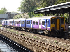 Northern 150226 @ Dewsbury (Sim0nTrains Photos) Tags: dewsburystation dewsburytrainstation northtranspennine dewsburyrailwaystation class150 sprinter northernclass150 class1502 brelyork brel dmu dieselmultipleunit northern northernrail 150226 northernrailways