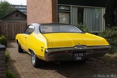 1969 Buick Skylark Coupe (NielsdeWit) Tags: coupé coupe nielsdewit car vehicle 5598hv yellow buick skylark ede 1969