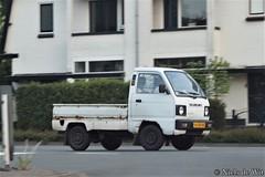 1989 Suzuki Carry Pick-up (NielsdeWit) Tags: nielsdewit car vehicle vd58hx suzuki carry pickup soest driving