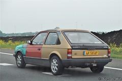 1984 Opel Kadett 12S (NielsdeWit) Tags: nielsdewit car vehicle lr58jp a12 driving opel kadett d 12s
