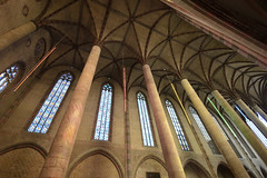 Church of the Jacobins (albireo 2006) Tags: churchofthejacobins france occitanie toulouse couventdesjacobins church gothicarchitecture gothic vault