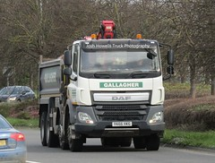 T & K Gallaghers YK66 XKG at Welshpool (Joshhowells27) Tags: lorry truck daf cf dafcf tkgallaghers tipper yk66xkg