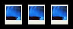 bluest (ghiro1234 [♀]) Tags: blu piùblu trittico poladroid dipstych robertaghidossi ghiro1234♀ cuffie
