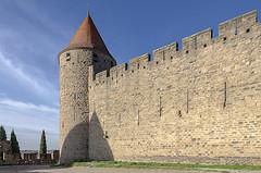 CARCASSONNE-041--OCCITANIE-PANORAMIQUE-_DSC0472 (bercast) Tags: aude carcassonne chateau chateaumedival france lesremparts occitanie ue bc bercast lacitédecarcassonne lamuraille