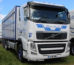 James Lonergan Volvo FH (12WD1696). (Fred Dean Jnr) Tags: waterfordtruckmotorshow waterford tramoreracecourse tramore truck lorry may2019 jameslonergan volvo fh 460 cattletruck 12wd1696
