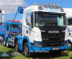J. Ryan International Transport Scania G500 (191WX1826). (Fred Dean Jnr) Tags: waterfordtruckmotorshow waterford tramoreracecourse tramore truck lorry may2019 jryaninternationaltransport scania g500 xt 191wx1826