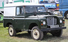 Land Rover (XCO695M). (Fred Dean Jnr) Tags: waterfordtruckmotorshow waterford tramoreracecourse tramore truck lorry may2019 landrover xco695m