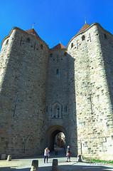 CARCASSONNE-097--OCCITANIE-PANORAMIQUE-_DSC0407 (bercast) Tags: aude carcassonne chateau chateaumedieval france occitanie ue bc bercast lamuraille àlintérieurdeacitédecarcassonne