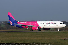 G-WUKL | Airbus A321-231 | Wizz Air UK (james.ronayne) Tags: gwukl airbus a321231 wizz air uk a321 luton ltn eggw canon 80d 100400mm raw jet aeroplane airplane plane aircraft airliner jetliner pax passenger