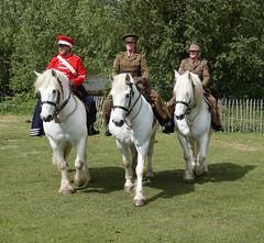 Riders on horseback (ec1jack) Tags: ec1jack kierankelly brentwood weald park country show essex england britain uk europe showground mayday spring may 2019 horseback horse riders army battle ww1