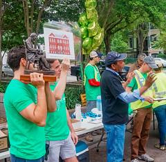 2019.05.04 Vermont Avenue Garden Blooms and Work Party, Washington, DC USA 01745