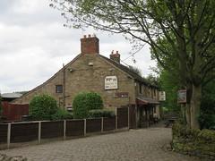 Brown Cow, Burrs, Bury (deltrems) Tags: pub bar inn tavern hotel hostelry house restaurant greater manchester trees browncow brown cow burrs bury