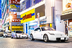 touring (Andre.32) Tags: photography car cars japan sportcar sportcars nissanfairladyz nissan fairladyz nismo 380rs z33 mazdarx7 mazda rx7 fd3s 痛車 itasha eunosroadster eunos roadster na8c