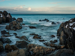 A windy evening (Fjällkantsbon) Tags: finnmark kongsfjord varanger evamårtensson norge berlevåg finnmarkfylkeskommune seascape barentssea platser