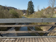 NEC230 Adelbach Roadbridge over the Necker River, Oberhelfenschwil, Canton of St. Gallen, Switzerland (jag9889) Tags: 2019 20190420 bach bridge bridges bruecke brücke ch cantonstgallen cantonofstgallen crossing europe fluss gkz317 helvetia holzbrücke infrastructure kantonstgallen necker oberhelfenschwil outdoor pont ponte puente punt river road roadbridge sg sanktgallen schweiz span strassenbrücke structure suisse suiza suizra svizzera swiss switzerland thurtributary toggenburg truss wasser water waterway woodenbridge jag9889