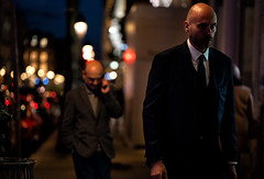 Hitman (graveur8x) Tags: man candid street potrait paris france city suit tie night lights dof europe urban style bokeh contrast people outside outdoor streetphotography strase frankreich sony sonya7iii sonyilce7m3 portrait