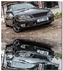 Lexus is200 se (SDsnr) Tags: linconshire uk lexusis200 car specialeffects turbo enginebay