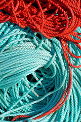 DSC03459 - Colours and Texture (archer10 (Dennis)) Tags: sony a6300 ilce6300 18200mm 1650mm mirrorless free freepicture archer10 dennis jarvis dennisgjarvis dennisjarvis iamcanadian novascotia canada glenmargaret rope red blue fishing