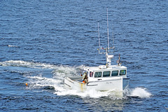 DSC03476 - Bay Bliss - Caught the Line.. (archer10 (Dennis)) Tags: sony a6300 ilce6300 18200mm 1650mm mirrorless free freepicture archer10 dennis jarvis dennisgjarvis dennisjarvis iamcanadian novascotia canada glenmargaret shadbay fishing boat baybliss lobster white trap