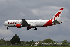 B767-38E(ER) C-GBZR AIR CANADA ROUGE (shanairpic) Tags: jetairliner passengerjet b767 boeing767 shannon aircanada rouge cgbzr