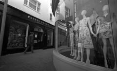 Don't be a dummy (4foot2) Tags: streetphoto streetshot street streetphotography candid candidportrate reportagephotography reportage people peoplewatching peopleofbrighton interestingpeople brighton laines shopwindow shop dummies dummy mannequin analogue film filmphotography 35mmfilm wideangle superwideangle voigtlander15mm voigtlander m3 mono monochrome blackandwhite bw leica leicam3 rangefinder rolleiretro rolleiretro400s 400s standdevelop rodinal 2019 fourfoottwo 4foot2 4foot2flickr 4foot2photostream