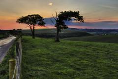 Old Winchester Hill sunset (Art-G) Tags: sunset meonvalley oldwinchesterhill hampshire uk canon eos7dmkii 24105lisusm hdr photomatix