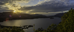 Surprise View Lake District May19 1 (dawnsprey) Tags: yellow surpriseview lakedistrict cumbria derwentwater sunset